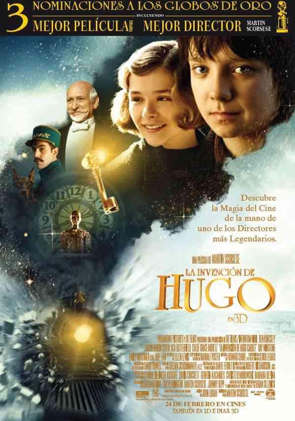 'La Invención de Hugo', y los sueños cine son 7