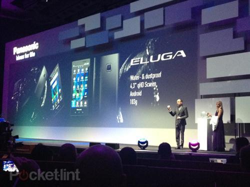 Eluga, un smartphone resistente al agua