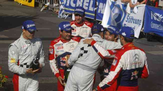 Sébastien Ogier comenta su relación con Loeb y Sordo 3