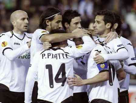 valencia derrota al Stoke City