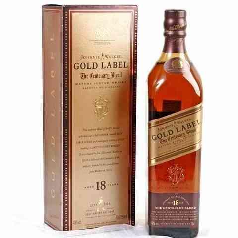 Johnnie Walker Gold Label 3