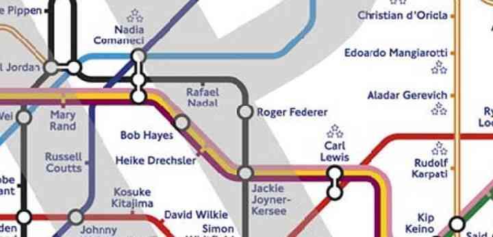 El Metro de Londres cambiará el nombre a sus estaciones por los de grandes deportistas