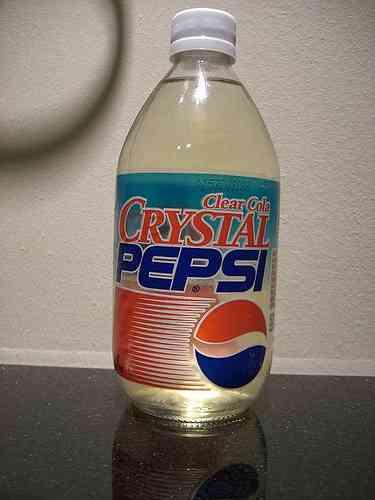Crystal Pepsi: una cola transparente 3