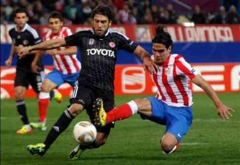 El Atlético encarrila la eliminatoria ante el Besiktas turco