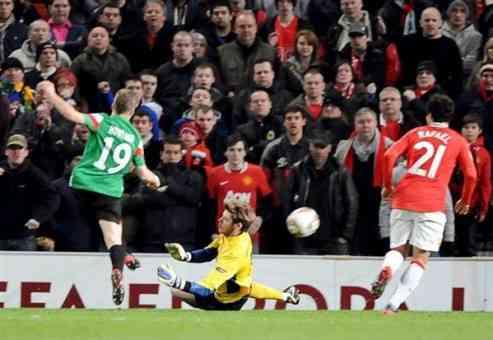 gol de muniain frente al manchester united europa league