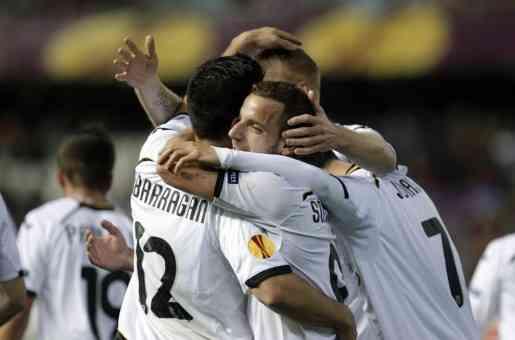 valencia busca el pase a cuartos de la europa league frente al PSV