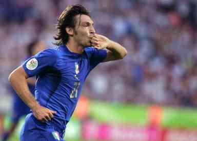Jugadores clave. Italia. Pirlo 3