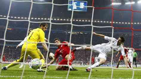 El Bayern gana merecidamente al Madrid 3