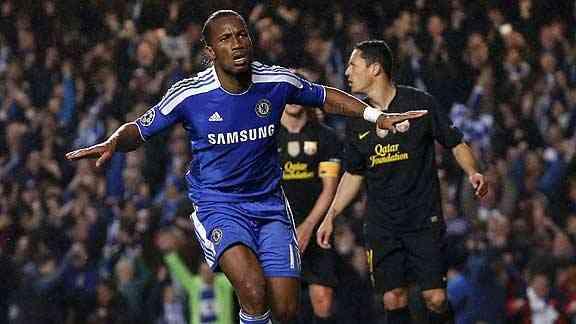 Lampard, Ramires, Drogba. Ventaja para los blues 3