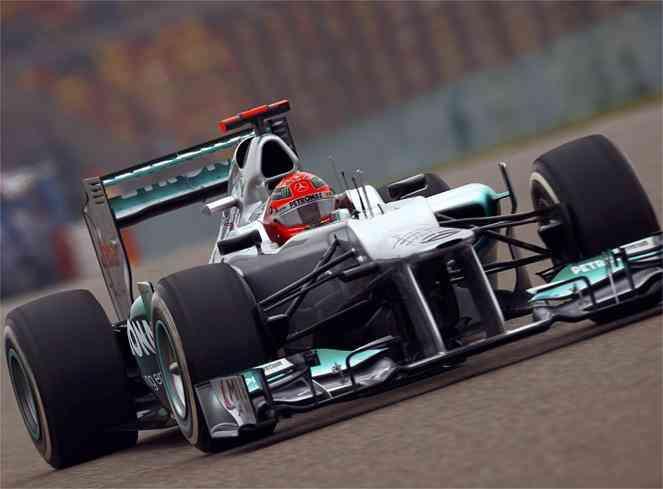 Schumacher el mas rapido de la primera jornada