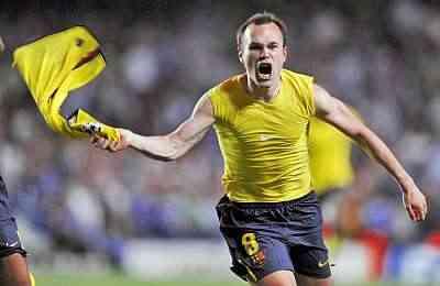 gol de iniesta semifinales champions league 2009