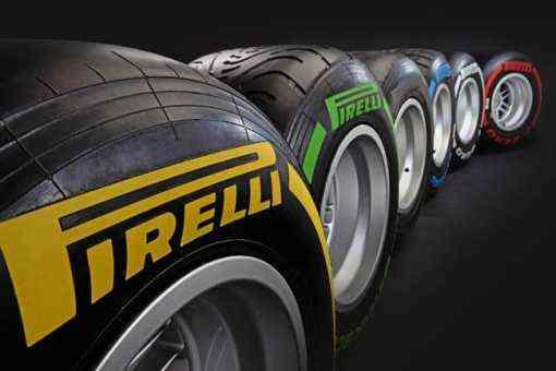 pirelli presenta sus compuestos para los proximos premios