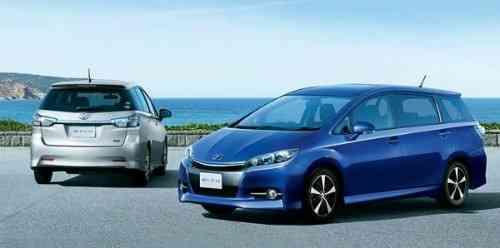 Renovado Toyota Wish 2012 3