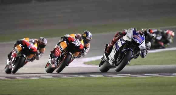 triplete español en el gran premio de qatar