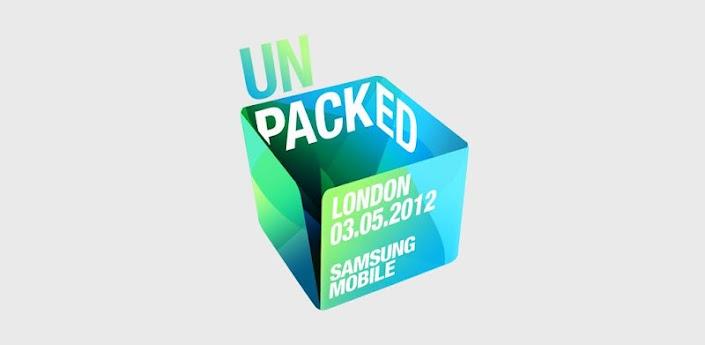 Samsung Mobile unpacked 2012: la app para seguir en directo las novedades del Next Galaxy 3
