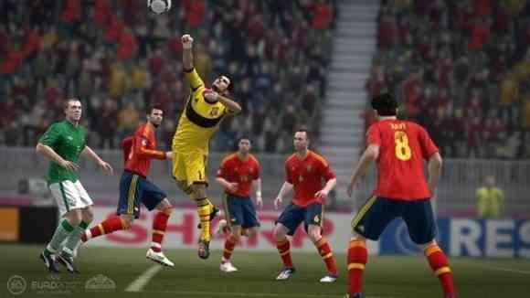 videojuego eurocopa 2012