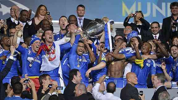 El Chelsea gana su primera Champions 3