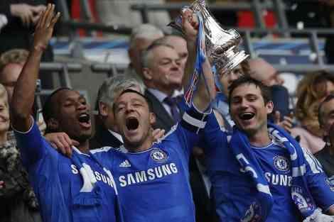 El Chelsea levanta la FA Cup 3