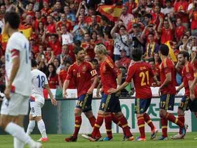 Segunda victoria de España
