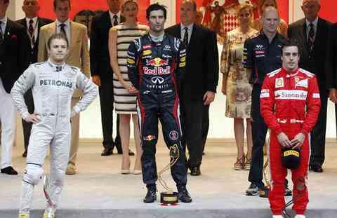 Victoria para Mark Webber en el GP de Mónaco 3