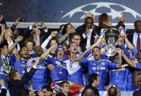 chelsea celebra champions