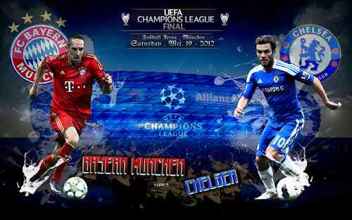 final champions league bayern munich vs chelsea
