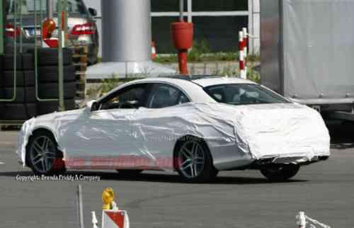 Cazado el nuevo Mercedes Clase S 6