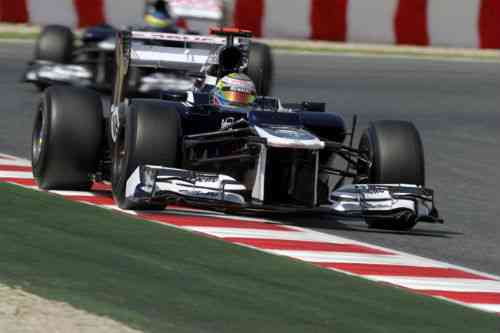 Pastor Maldonado vence en le GP de España 2012 de F1 3