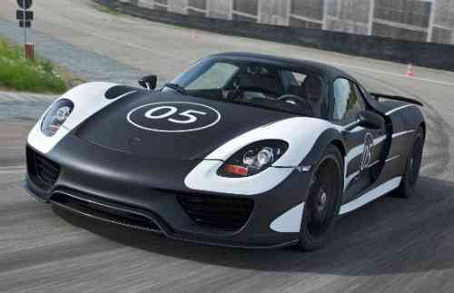 Porsche 918 Spyder en fotos oficiales 5