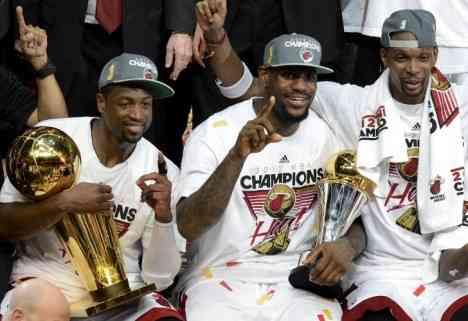 Miami se lleva el anillo de la NBA 3