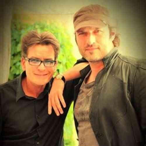 Charlie Sheen y Robert Rodríguez