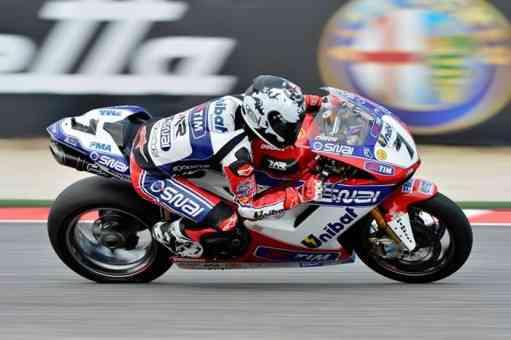 Checa se aleja de los primeros puestos de superbikes