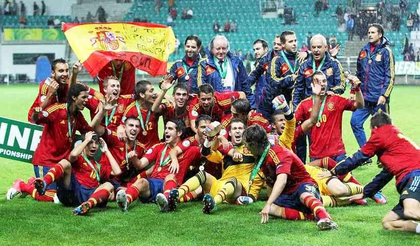 España se queda con el Europeo sub19 3