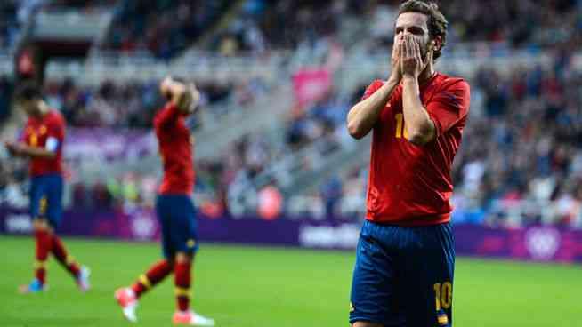 España deja el fútbol en los JJ.OO. en primera ronda 3