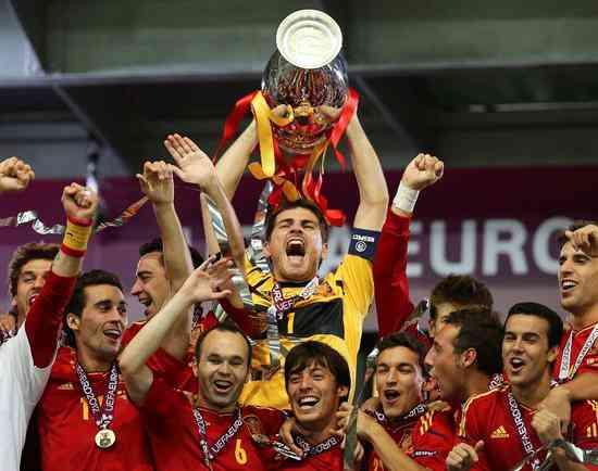 España repite como campeona de la Eurocopa 3