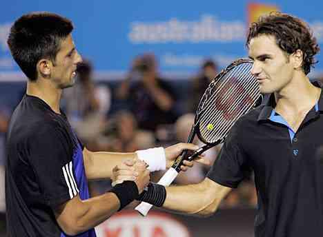Federer ante Djokovic en las semifinales de Wimbledon 3