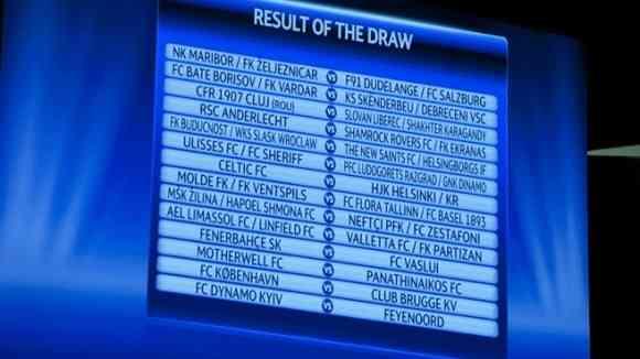 sorteo tercera ronda champions league 2012