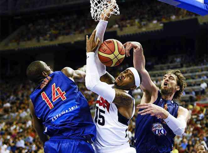 La ÑBA cae ante la NBA y España cierra los Juegos con 17 medallas 3