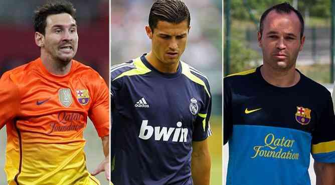Cristiano, Messi e Iniesta, candidatos a mejor de la UEFA 3