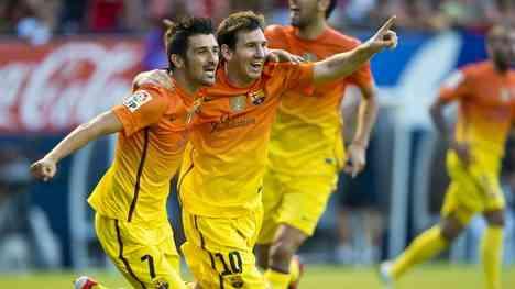 El Barcelona gana en Pamplona y el Madrid sucumbe en Getafe 3