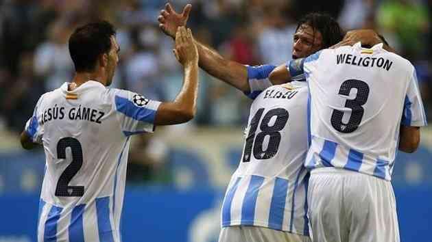 El Málaga se mete en Champions 3