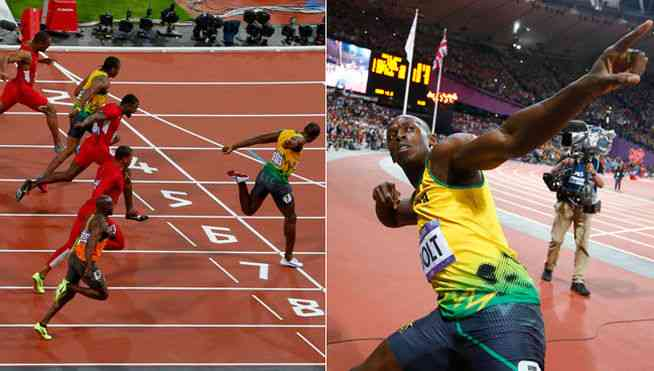 Usain Bolt vuelve a hacer historia en Londres 3