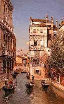 canal de venecia de martin rico