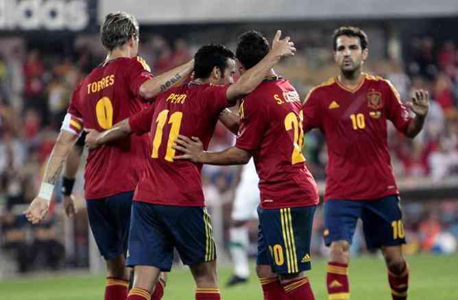 España golea a Arabia Saudita en una nueva fecha FIFA 3