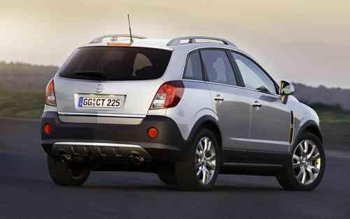 Opel lanza su nuevo Antara 4X4 9