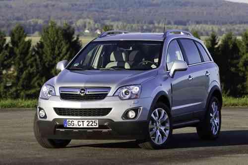 Opel lanza su nuevo Antara 4X4 7