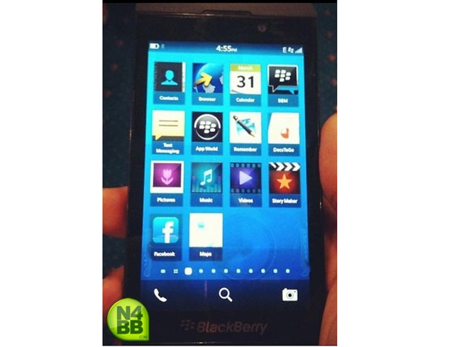 Primeras fotos y vídeos del nuevo teléfono con BlackBerry 10 OS 3