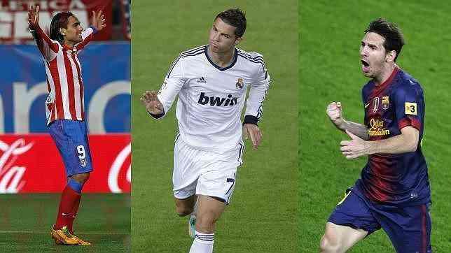 Messi, Cristiano y Falcao siguen a lo suyo 3