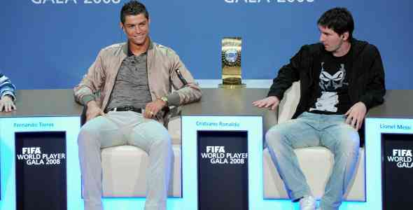 Blatter apoya la lucha entre Messi y Cristiano Ronaldo