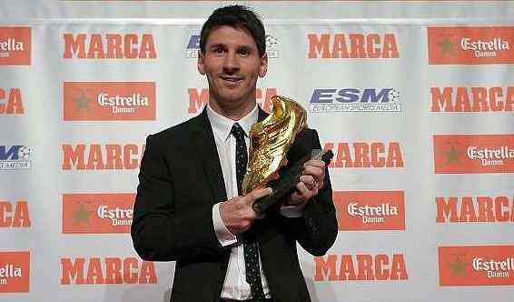 Entregan la Bota de Oro a Lionel Messi 3